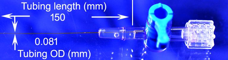 Doccol microcatheter 81 micron one-way stopcock